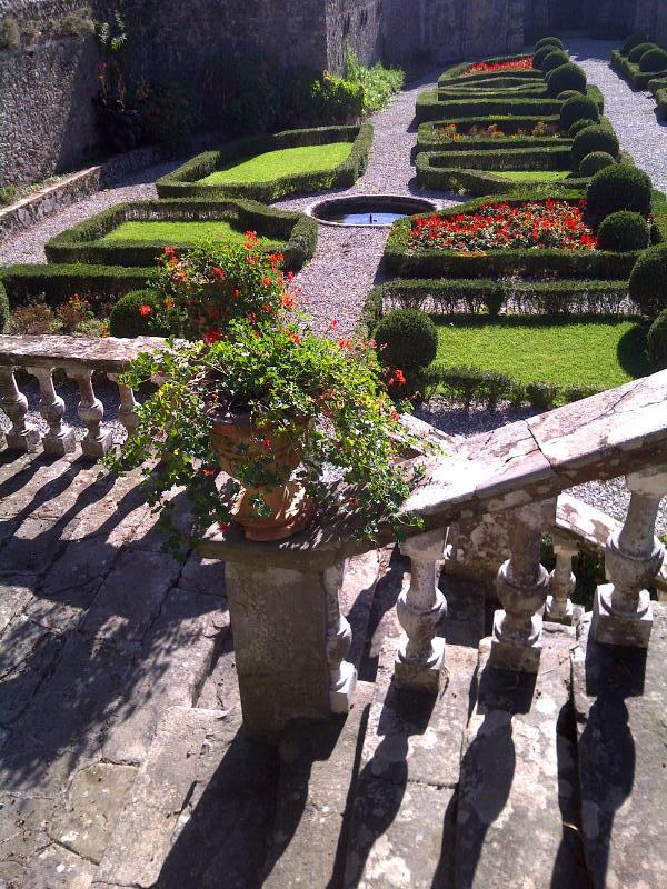 Garden of Villa Torrigiani in Lucca