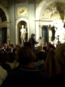 Special concert of recently rediscovered Vivaldi works played in Hall of 500 in Palazzo Vecchio