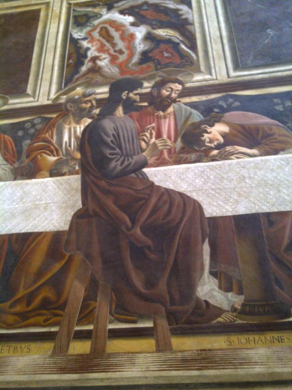 Last Supper tour - Andrea del Castagno in Santa Appolonia