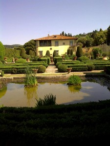 Villa Gamberaia from the gardens