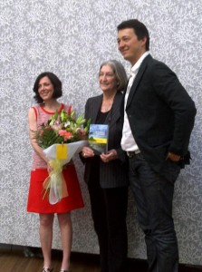 Author Jane Fortune with Linda Falcone and Marco Badiani