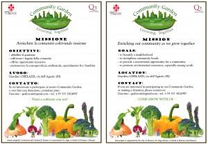 Giardino Chelezzi Community gardens in Florence Beyond