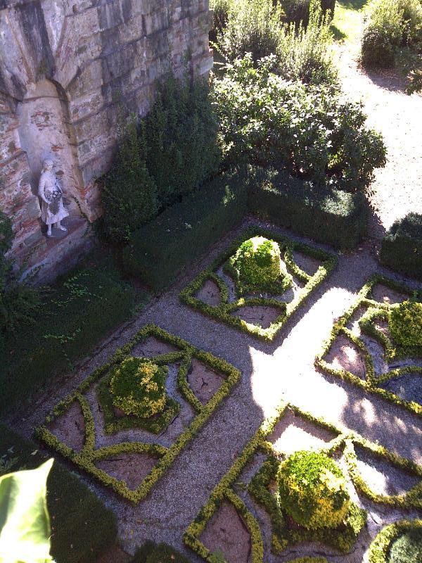 Italian garden at Villa Reale