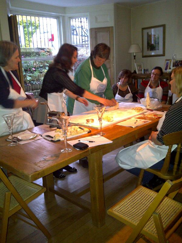 making the fresh pasta 3.12.11