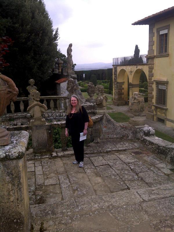 Kath at Gamberaia