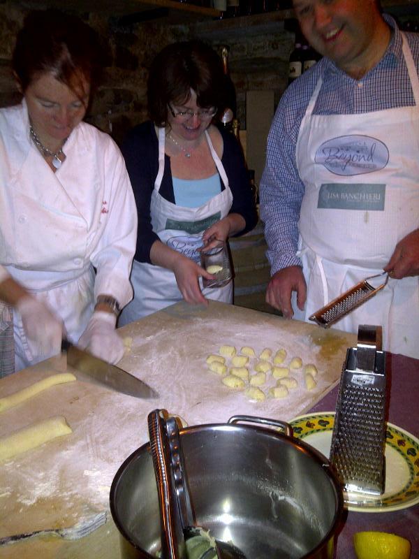 Gnocchi production line