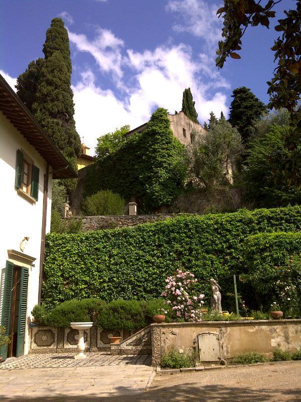 St Jerome 's hut above the Villa Medici