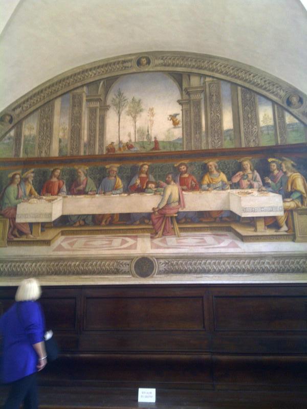 Perugino's Last Supper