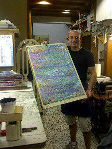 Riccardo's demonstration piece