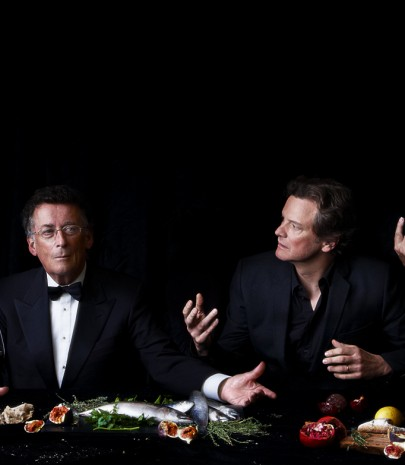 The Actors Last Supper – photographed by Alistair Morrison