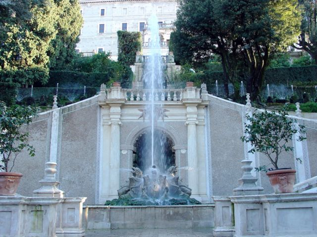 Dragon Fountain Frontal, Villa D'Este