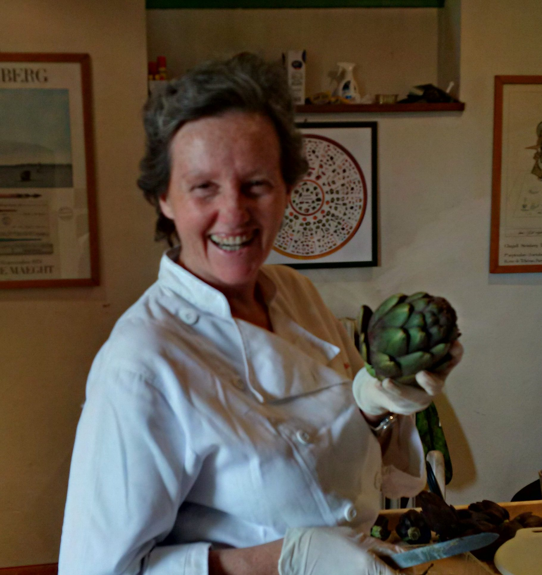 Artichokes and Ambiance – Tuscan Cooking class with Lisa Banchieri