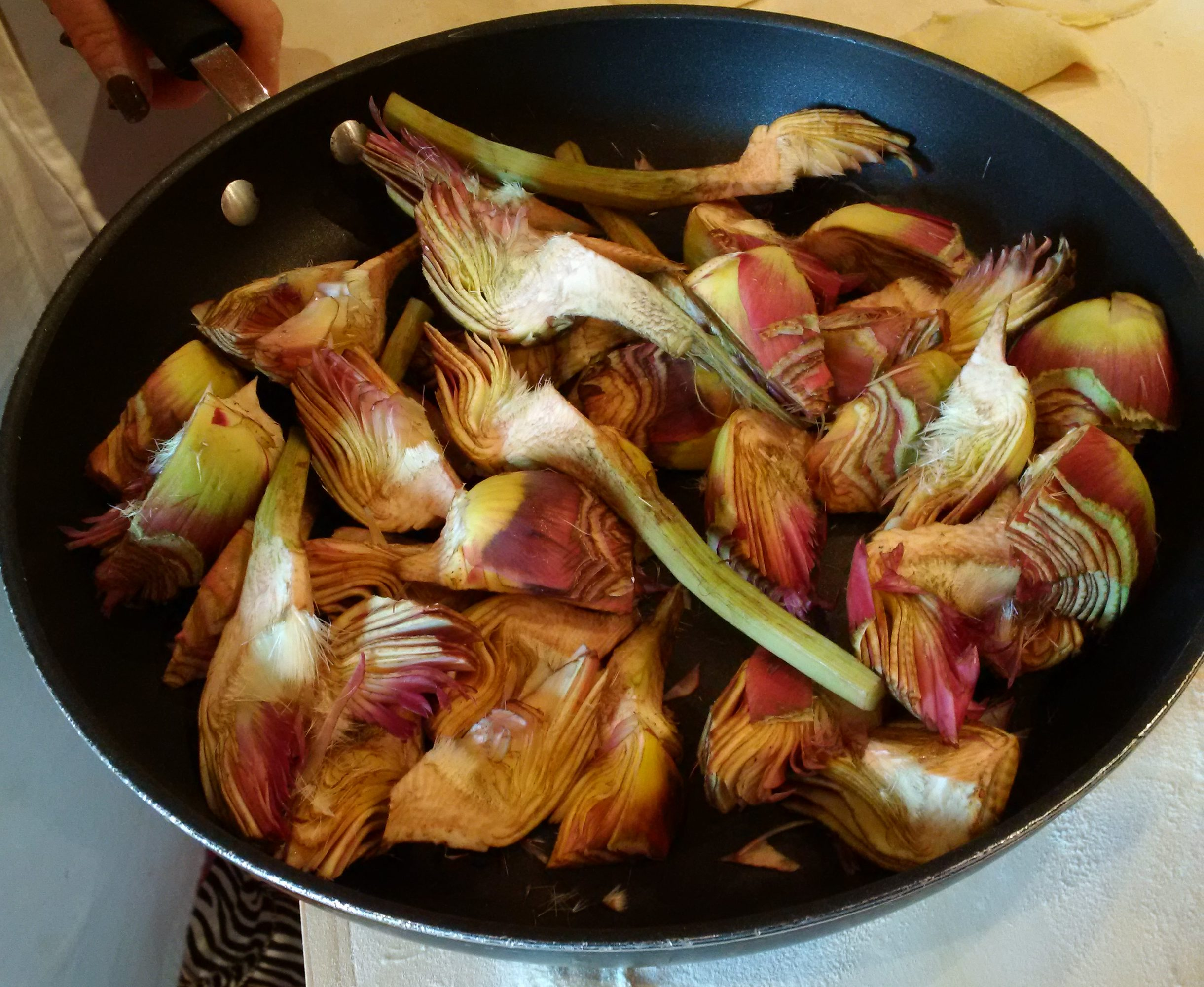 Fresh herbs and Black Cabbage – essentials in Tuscan cooking