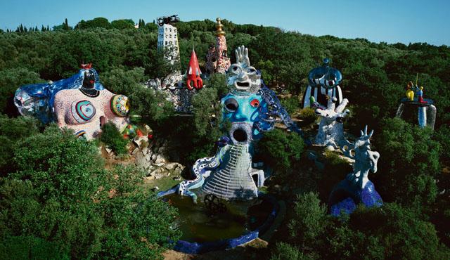 """Tarot-Garden""-1998"