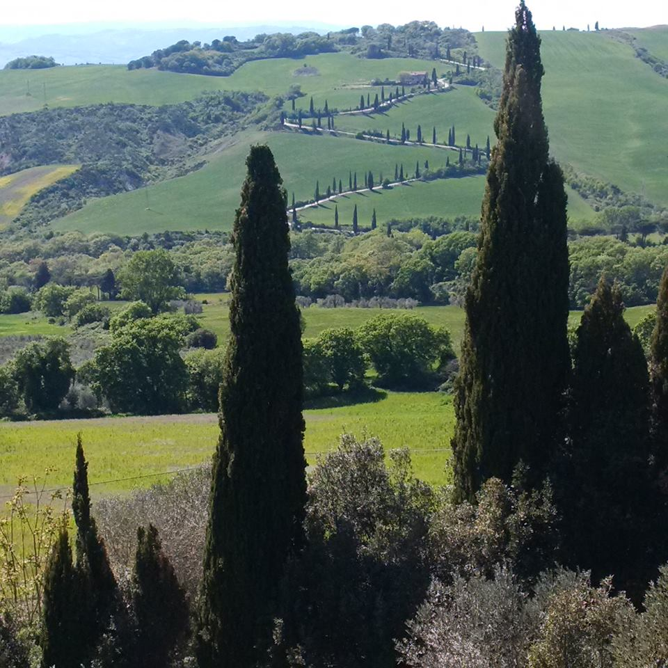 La Foce - the view