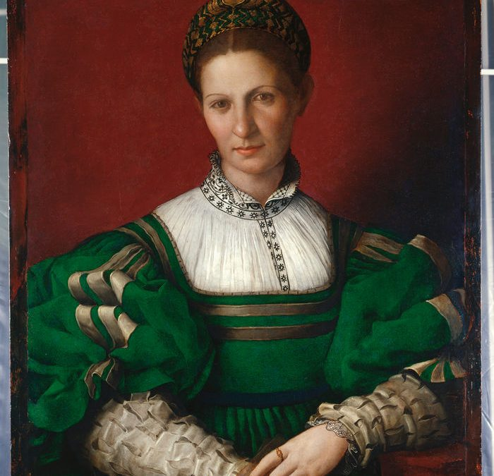 """Unknown Woman in Green"" from Florence to Windsor Castle – but what is her story?"